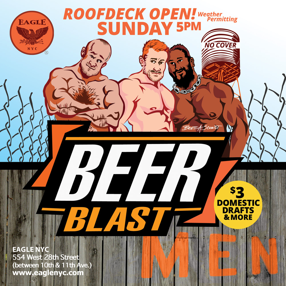 Rooftop Beer Blast (Weather permitting) @ The Eagle NYC