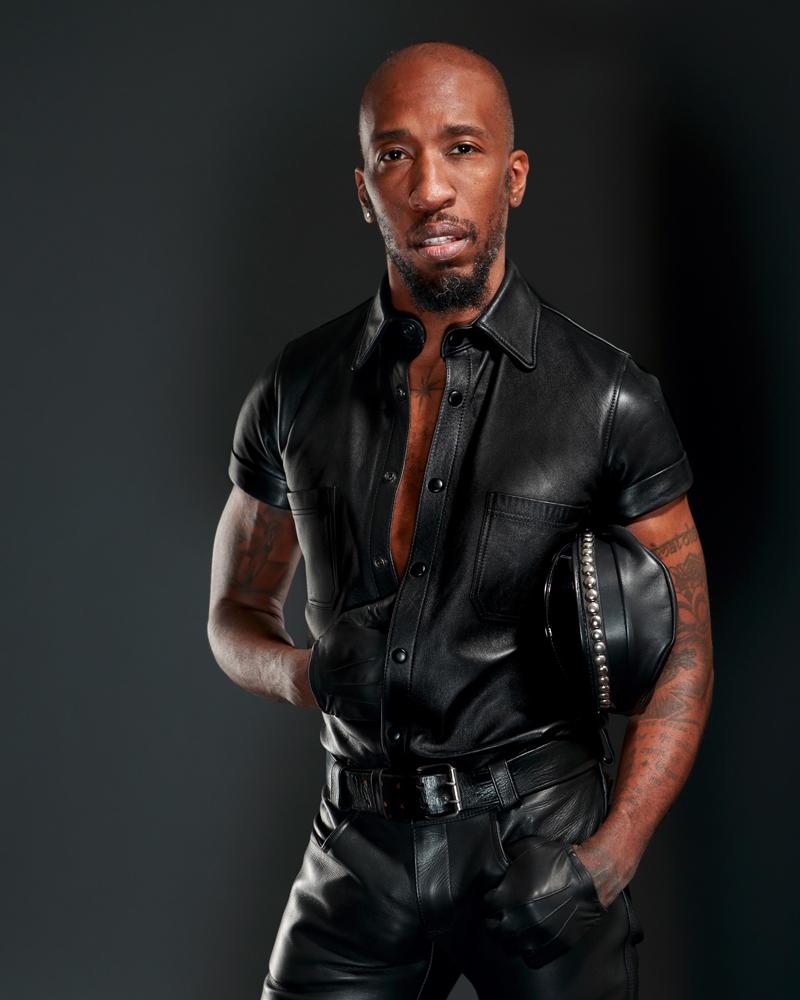 boy Leather gay son