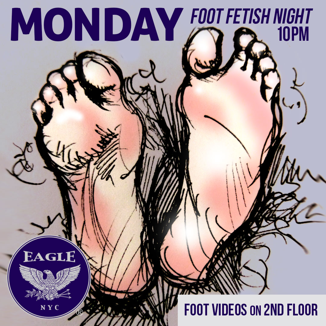 FOOT FETISH MONDAY