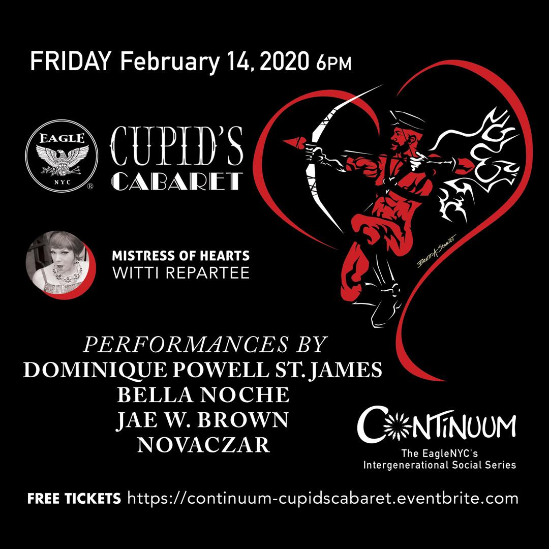 Cupid's Cabaret, Feb 14, 2020